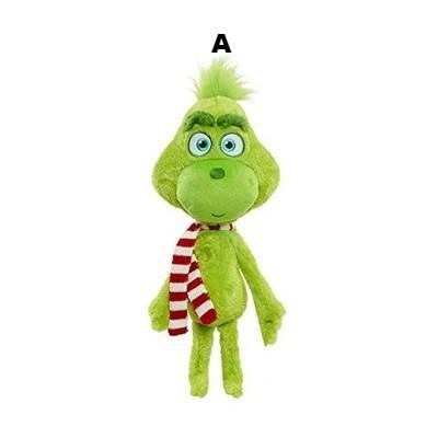 Christmas Doll How the Grinch Stole Stuffed Plush Toy Xmas Kids Gifts