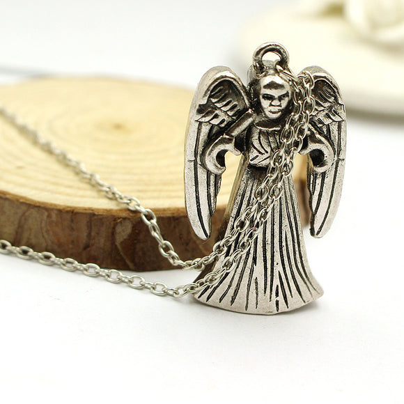 Doctor Who Weeping Angels Pendant Necklace