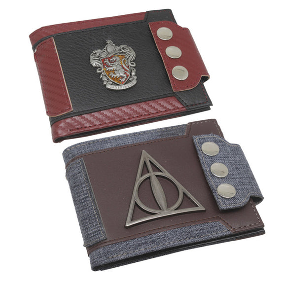 Harry Potter Wallet Gryffindor Crest Bifold Wallet