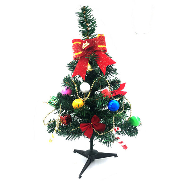 Mini Artificial Christmas Tree Decoration