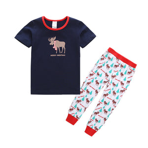 Kids Christmas Pajamas Sets Outfits Sleepwear