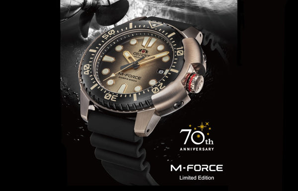 ORIENT revives its popular M-FORCE Sports Collection flagship model with a bold new look