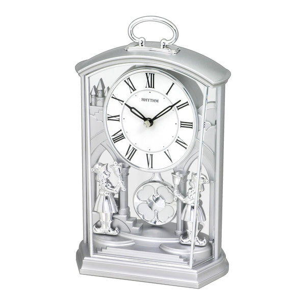 Rhythm Table Clock Pendulum Magic Motion RT4RP796WR19