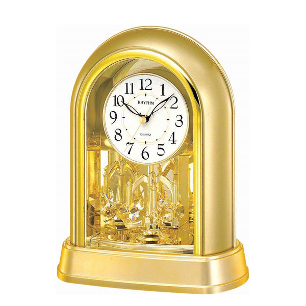 Rhythm Table Clock Pendulum Magic Motion RT4SG696WR18
