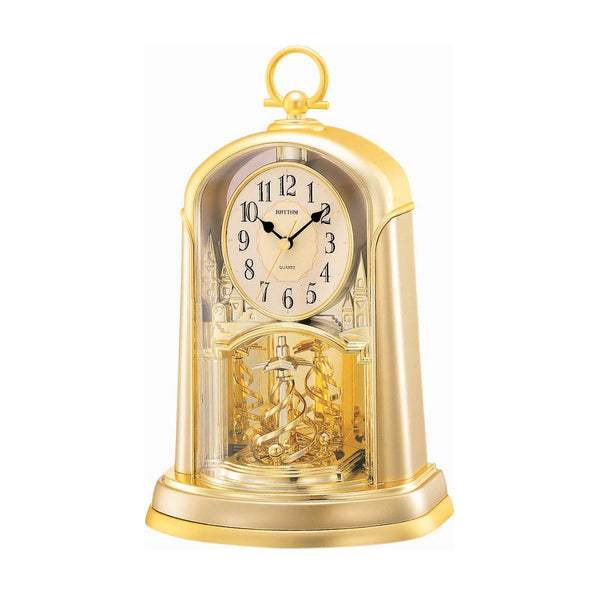 Rhythm Table Clock Pendulum Magic Motion RT4SG713WR18