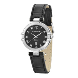 Alain Delon Ladies Elegance Quartz Leather AD351-2339