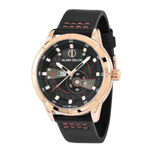 Alain Delon Men Multi Function Black AD448-1535