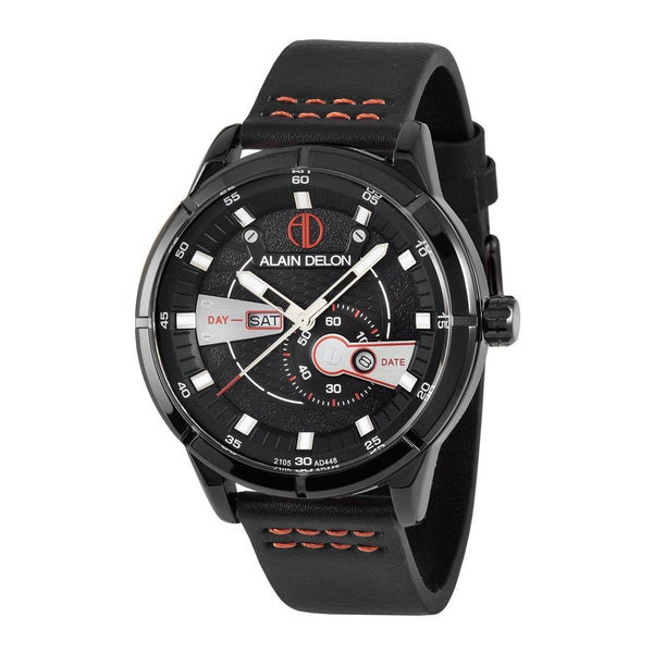 Alain Delon Men Multi Function Black AD448-1735