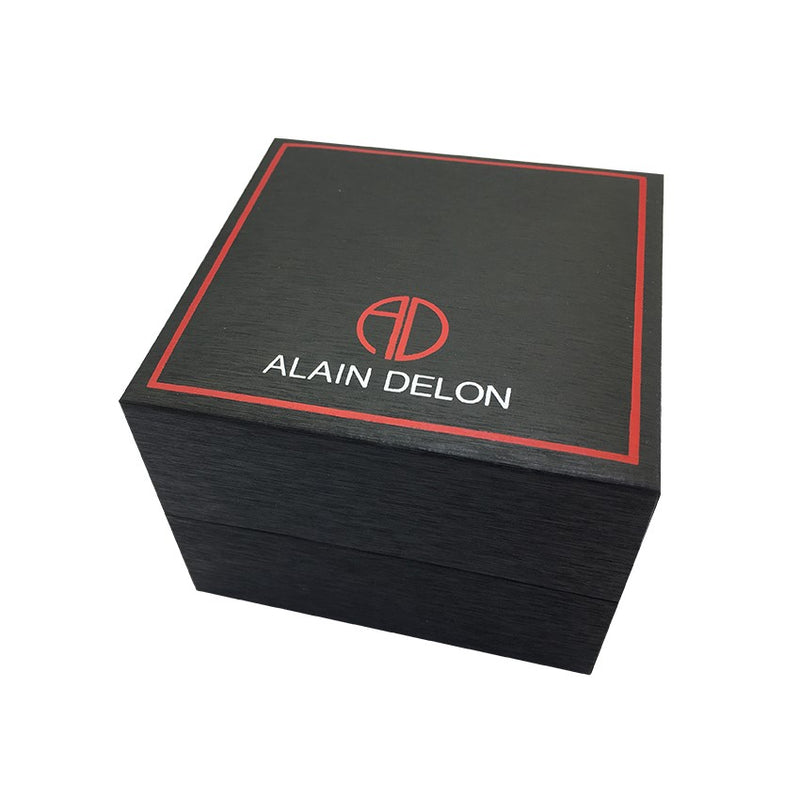 Alain Delon 25th Anniversary Men Automatic Limited Edition AD25-1362 (Free Gift)