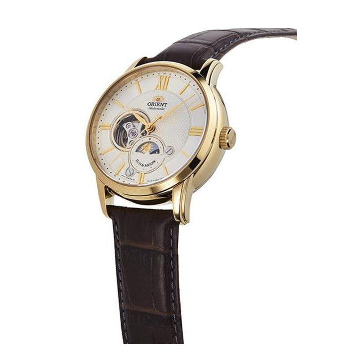 Orient Sun & Moon Semi-Skeleton ORRA-AS0004S