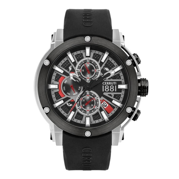 Cerruti 1881 Bicciano Multi-Function Silicon Men Watch CTCRA28601