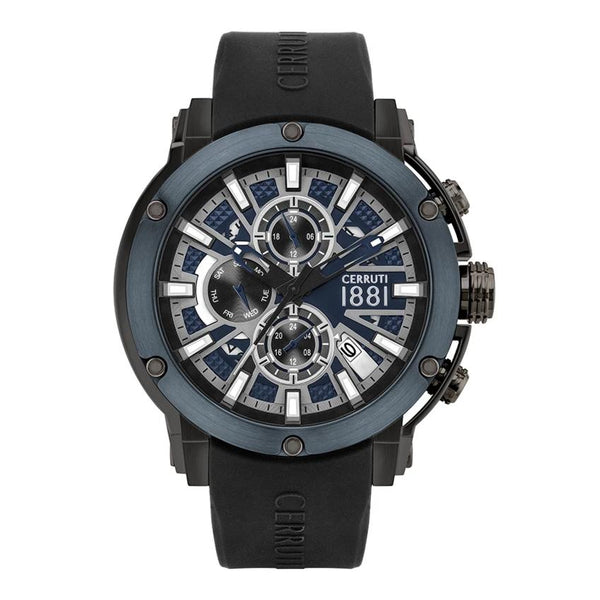Cerruti 1881 Bicciano Multifunction Silicon Men Watch CTCRA28602