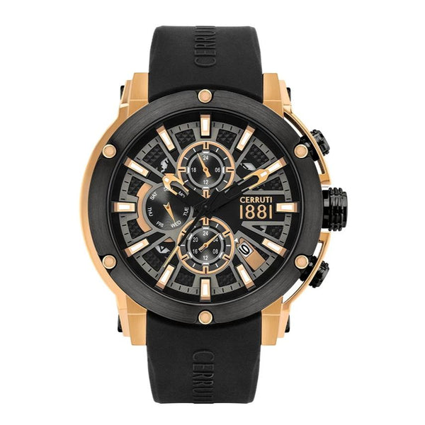 Cerruti 1881 Bicciano Multifunction Silicon Men Watch CTCRA28605,