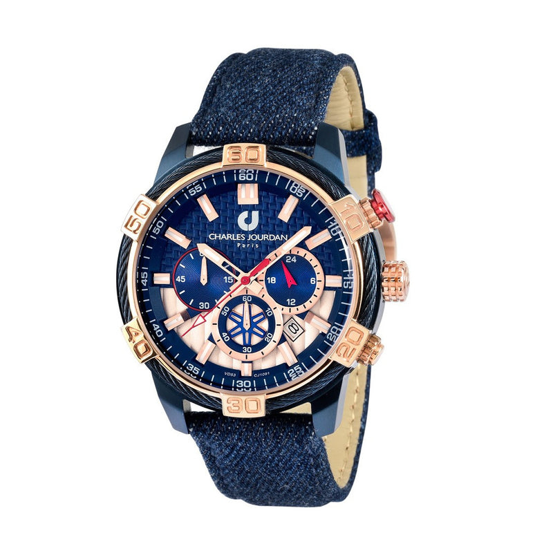 Charles Jourdan Men Chronograph CJ1091-1882C