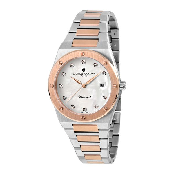 Charles Jourdan Patron Diamant Women Elegance CJ1096-2657D