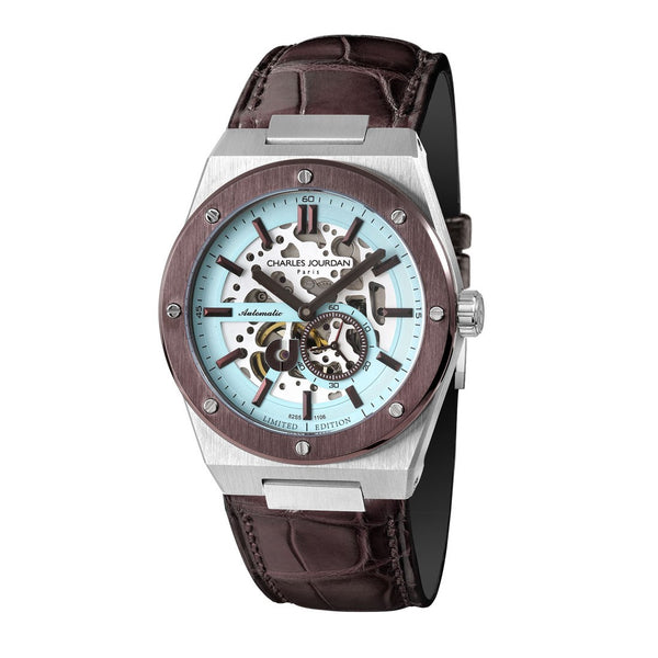 Charles Jourdan Patron Mechanica Men Automatic Limited Edition CJ1106-1392LE (Free Gift)