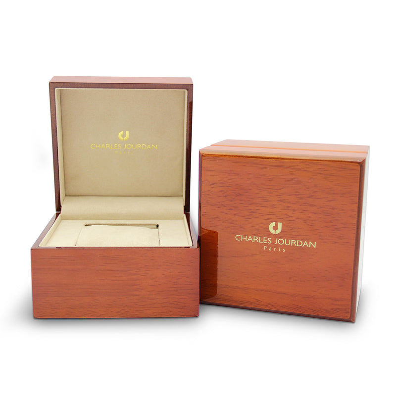 Charles Jourdan Patron Diamant Men Classic CJ1096-1737D (Free Gift)