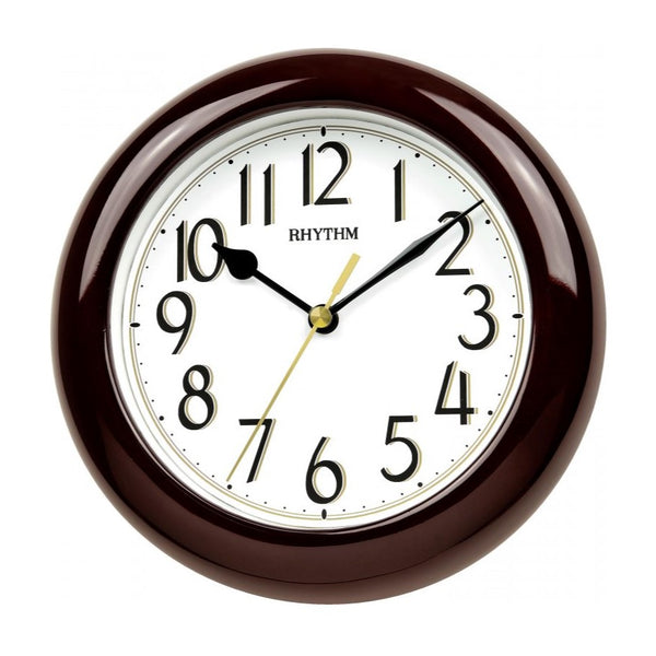 Rhythm Wall Clock Wooden RTCMG126NR06