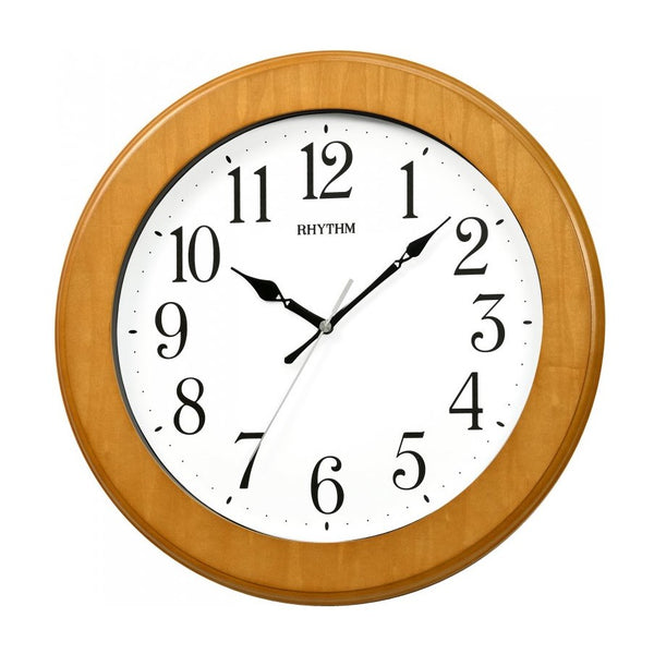 Rhythm Wall Clock Wooden RTCMG129NR07