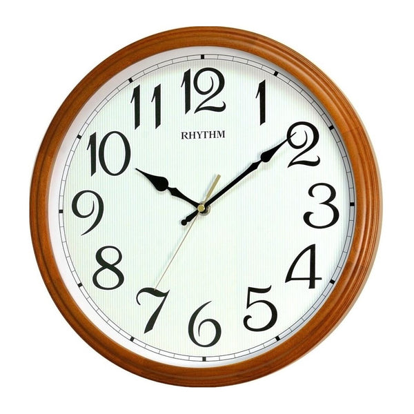 Rhythm Wall Clock Wooden RTCMG134NR07