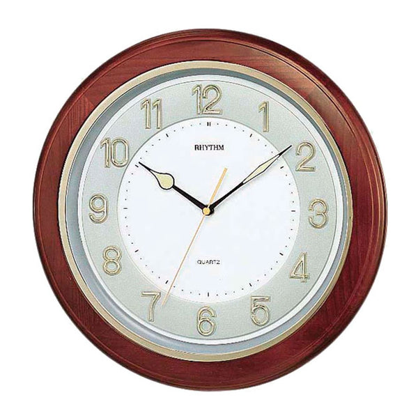 Rhythm Wall Clock Wooden RTCMG266BR06