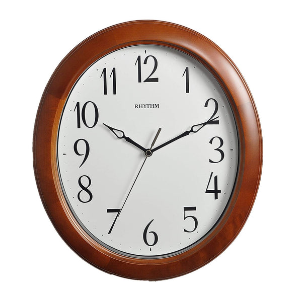 Rhythm Wall Clock Wooden RTCMG271NR06