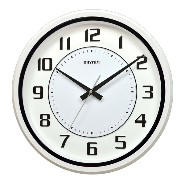 Rhythm Clock Quartz Wall Clock RTCMG508BR03