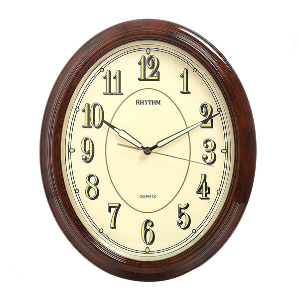 Rhythm Wall Clock Super Luminous RTCMG712NR06