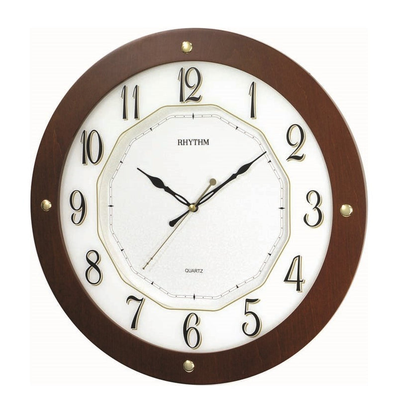 Rhythm Clock Quartz Wall Clock RTCMG977NR06