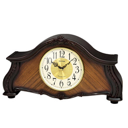 Rhythm Table Clock Wooden Sound In Place RTCRH241NR06