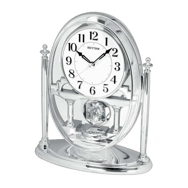 Rhythm Clock Quartz Table Clock RTCRP609WR19