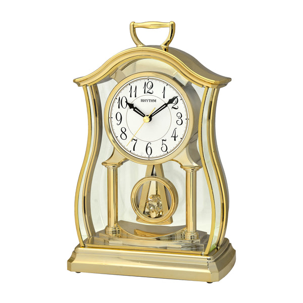 Rhythm Clock Quartz Table Clock RTCRP611WR18