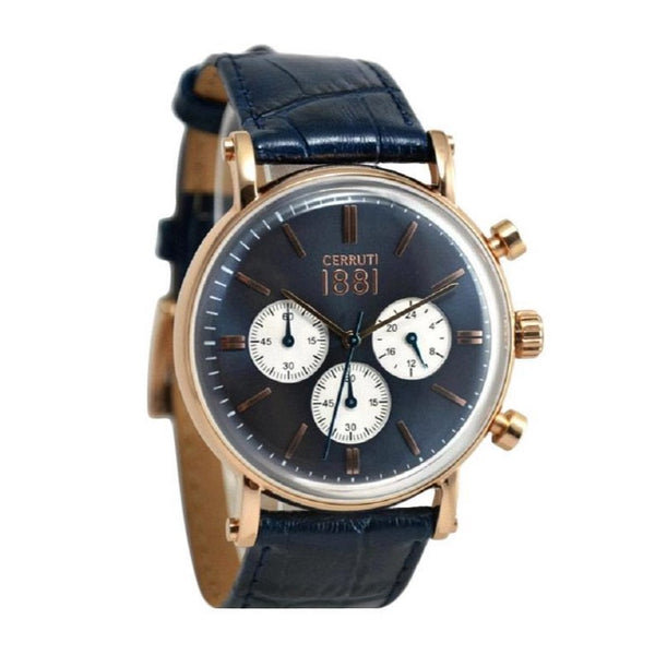Cerruti 1881 Men Multi-Function CTCRA110SR03BL