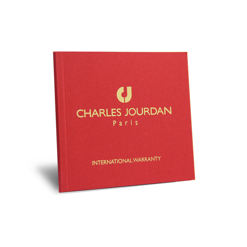 Charles Jourdan Patron Diamant Men Classic CJ1096-1617D (Free Gift)