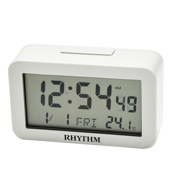 Rhythm Digital Alarm Clock RTLCT083NR03