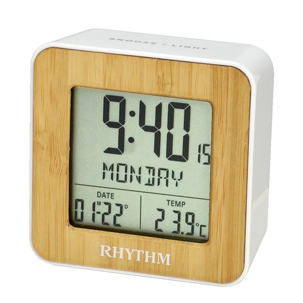 Rhythm Digital Alarm Clock RTLCT085NR03