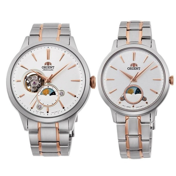 Orient Sun & Moon His & Her Set Contemporary (ORRA-AS0101S & ORRA-KB0001S)