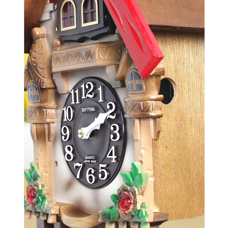 Rhythm Wall Clock Wooden Cuckoo RT4MJ415-R06