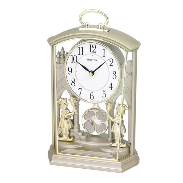 Rhythm Table Clock Pendulum Magic Motion RT4RP796WR18