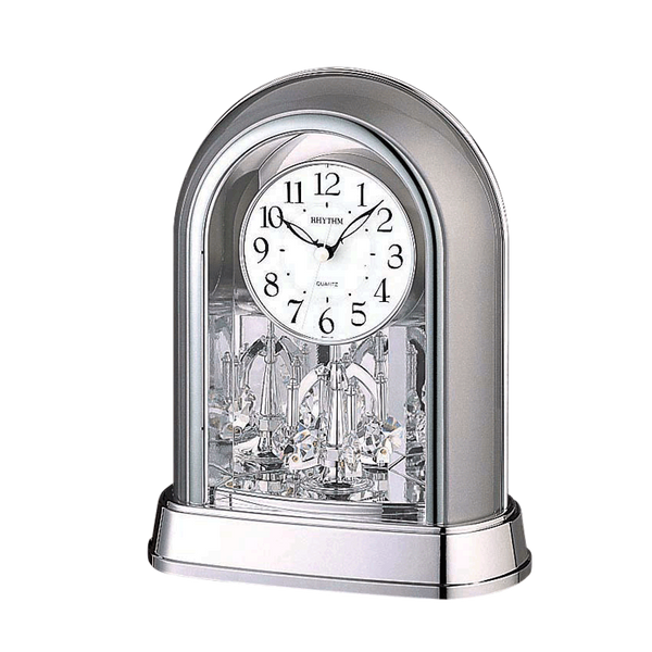 Rhythm Table Clock Pendulum Magic Motion RT4SG696WR19