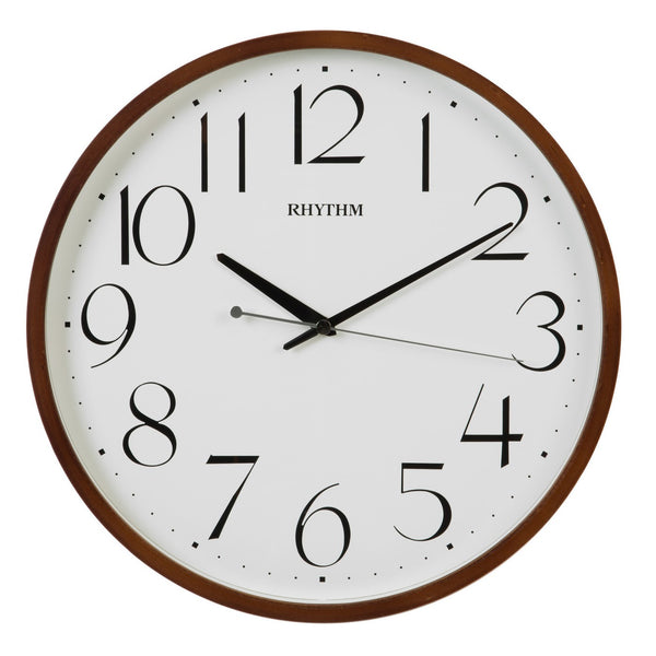 Rhythm Wall Clock Wooden RTCMG133NR06