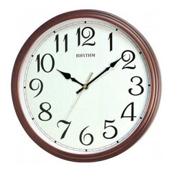 Rhythm Wall Clock Wooden RTCMG134NR06