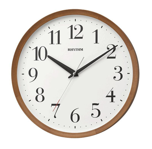 Rhythm Wall Clock Wooden RTCMG135NR06