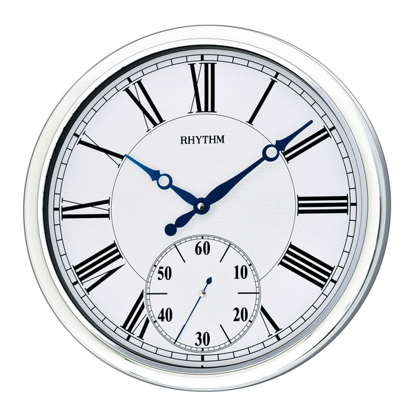 Rhythm Clock Quartz Wall Clock RTCMG774NR19