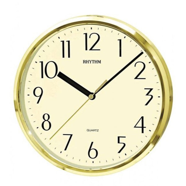Rhythm Clock Quartz Wall Clock RTCMG839AZ18