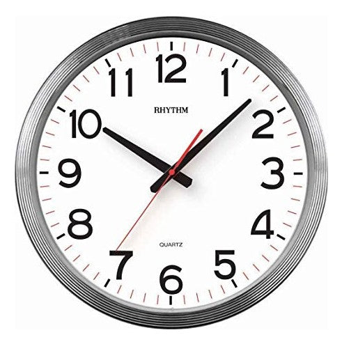Rhythm Clock Quartz Wall Clock RTCMG852NR19