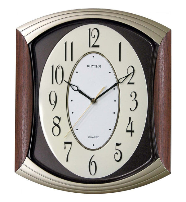 Rhythm Clock Quartz Wall Clock RTCMG856NR06