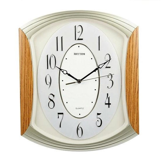 Rhythm Clock Quartz Wall Clock RTCMG856NR07