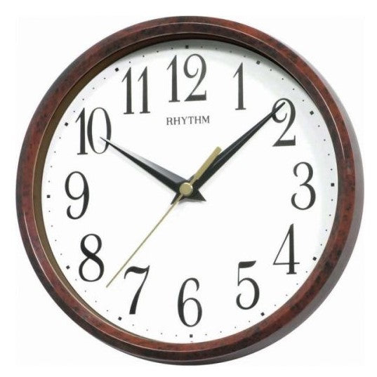 Rhythm Clock Quartz Wall Clock RTCMG890DR06