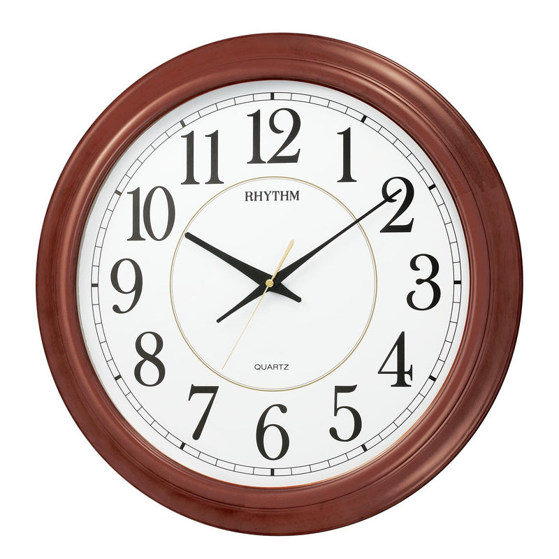Rhythm Clock Quartz Wall Clock RTCMG982NR06